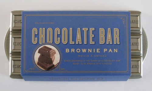 Williams Sonoma's Chocolate Bar Brownie Pan