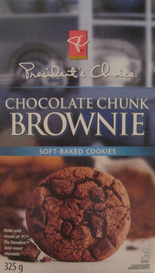 P C Chocolate Chunk Brownie Cookies